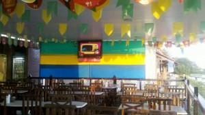 Os bares também apostam na decoração