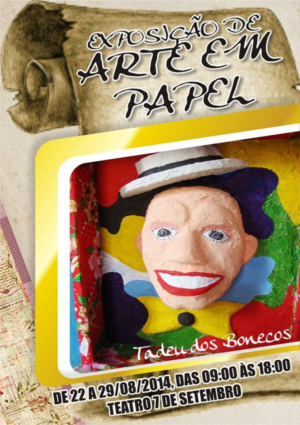 Exposicao Tadeu e Seus Bonecos