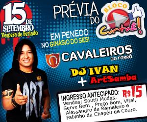 Evento acontecerá dia 15 de Setembro em Penedo.