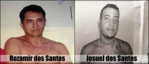 Rozamir dos Santos e Josuel dos Santos