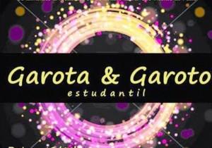 Garoto e Garota Estudantil