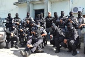 Operação contou com cerca de 45 policiais, que na maioria deles não estavam de serviço e foram voluntários para sucesso da operação.