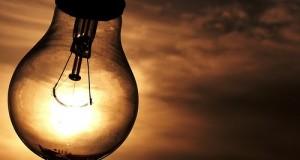 Falta de Energia Lâmpada