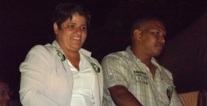 Sandra Alves e Jairo Teodoro. Foto: Geraldo José / Diário Penedense