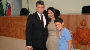 Presidente Júnior do Tó e família.