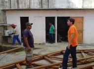 Prefeito Marcius Beltrão acompanha avanço dos trabalhos da Marina Pública de Penedo
