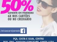 Óticas Carol em Penedo lança promoção de até 50% de desconto