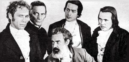 Stênio Garcia, Osmano Cardoso, Gracindo Júnior, Gianfrancesco Guarnieri e Fernando Torres em Dez Vidas