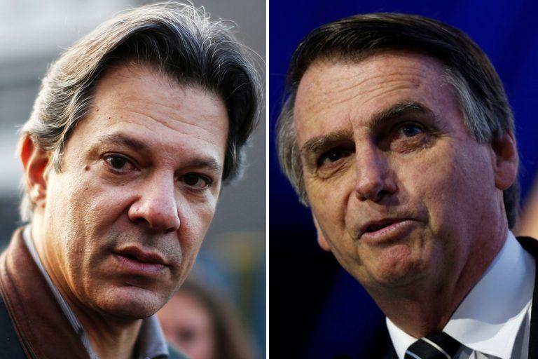 Pesquisa Ibope aponta empate técnico entre Haddad e Bolsonaro em Alagoas