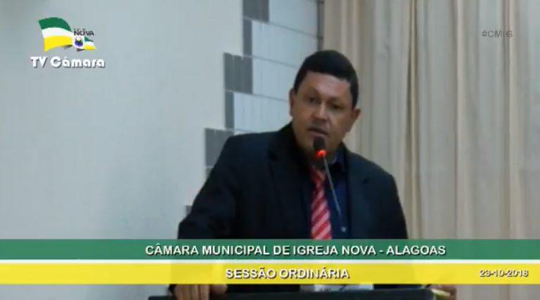 Vereador Nado pede urgência para reparos em ponte que liga povoados a cidade de Igreja Nova