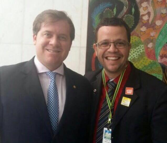 Vereador Alando Lima se prepara para desembarcar no PSD