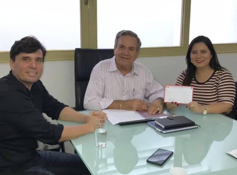 PDT Estadual confirma Aliny Beltrão como pré-candidata em Igreja Nova