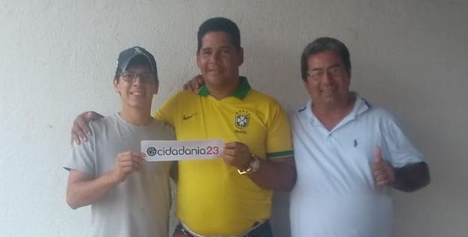 Eufrásio e Rodolfo Dantas continuam fortalecendo Cidadania23 em Piaçabuçu