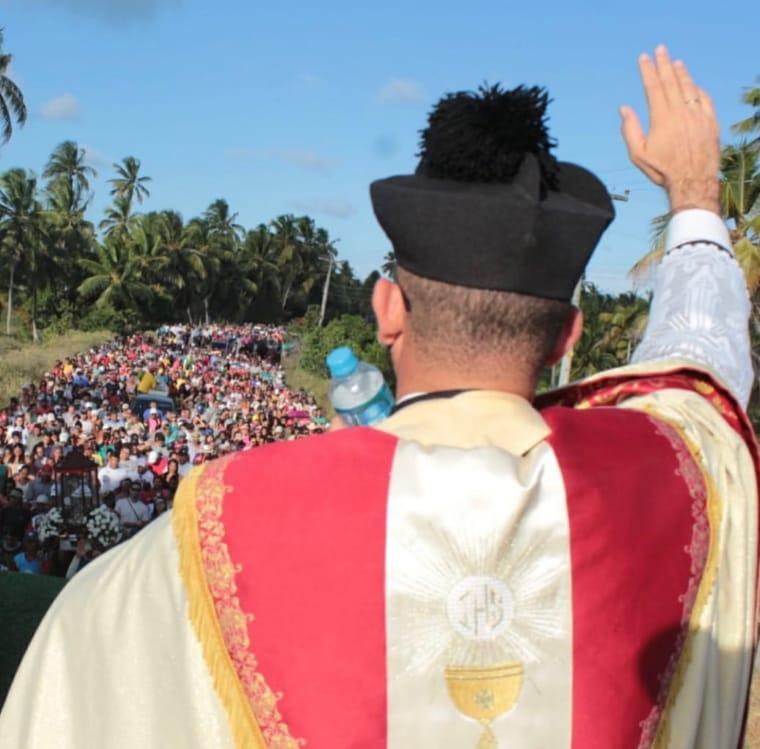 Padre diz: Romaria é momento de oração e não de venda e consumo de álcool