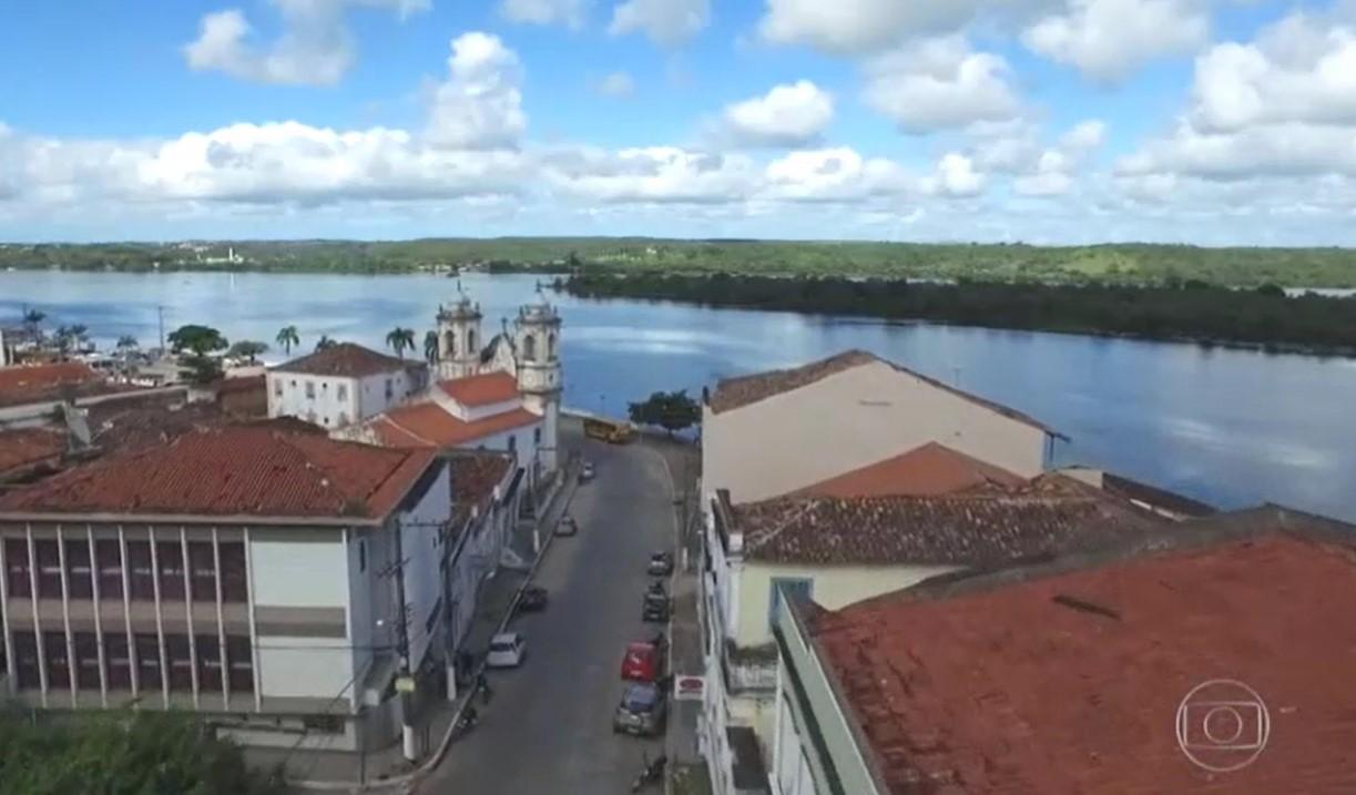 Penedo é mostrada no Jornal Nacional como uma das principais do Circuito Histórico de AL - Boa Informação