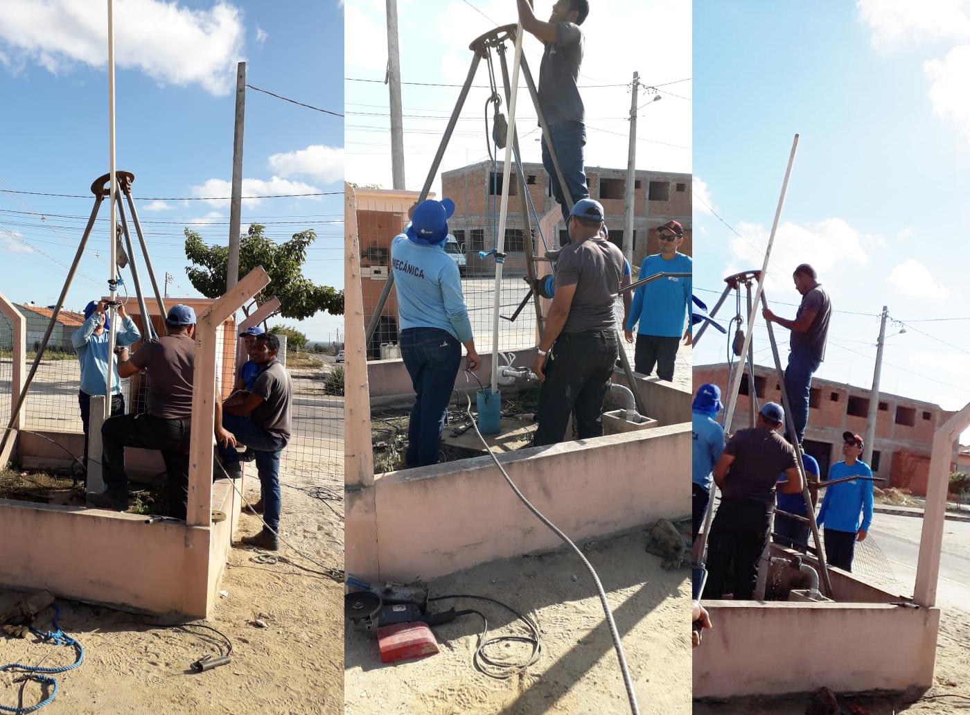Após 3 dias de trabalho SAAE de Penedo consegue reativar poço alvo de vandalismo - Boa Informação