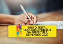 Concurso da Prefeitura de Penedo 2020