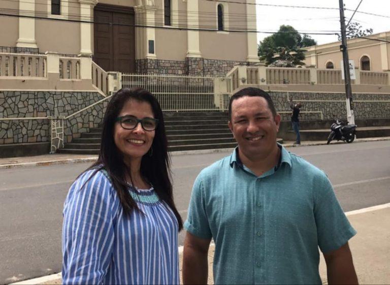 Dra Ernestina e Aureliano mantém candidaturas em Igreja Nova